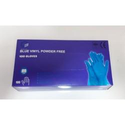 Rękawice Blue Vinyl rozm. M