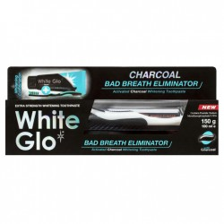 Pasta White Glo-bad breath...